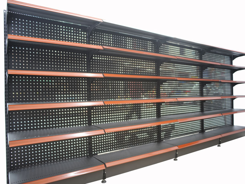Super Store Racks With Gondola End ShelfIslanddouble