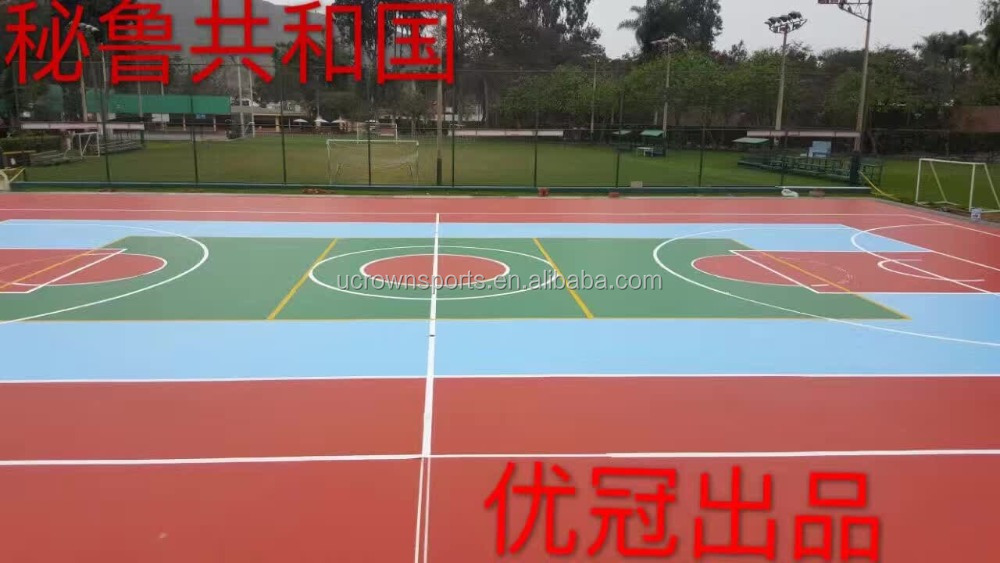 Top quality flooring for tennis court for sale basketball flooring