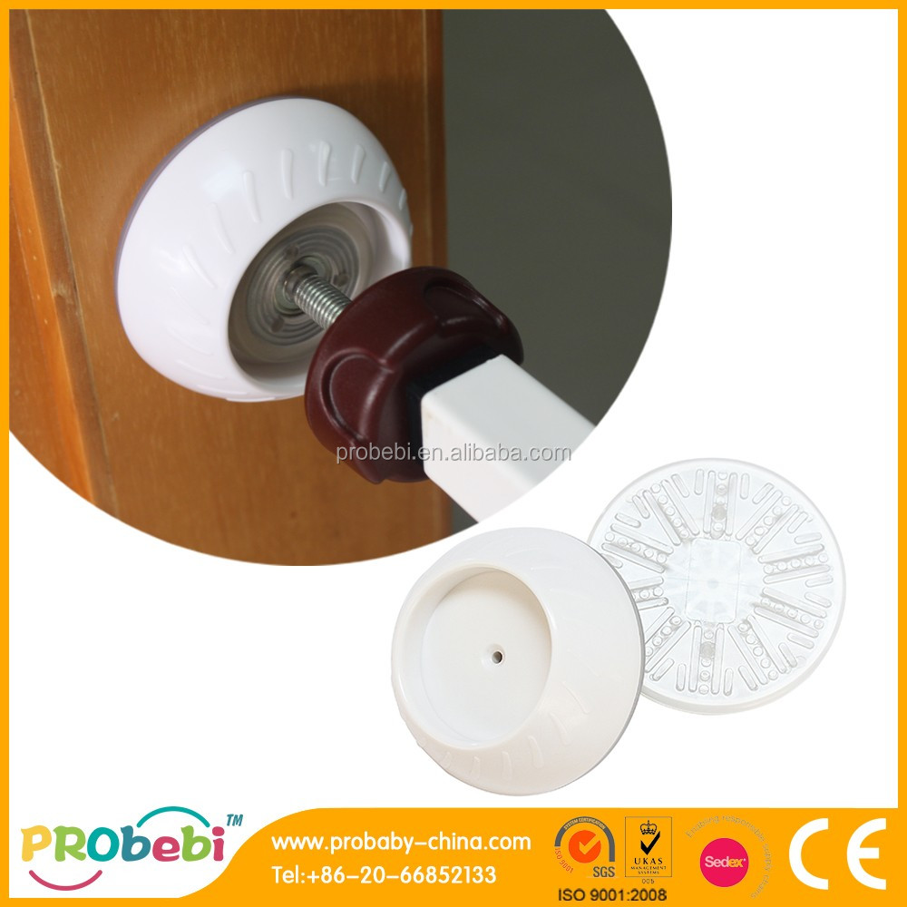 Baby Gate Wall Guard Pads White 4 Pack For Pressure