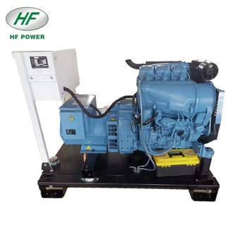 Factory high quality deutz air cooled 3 cylinder diesel generator