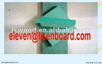 Green Color MDF Timber,High Moisture Resistant MDF Boards