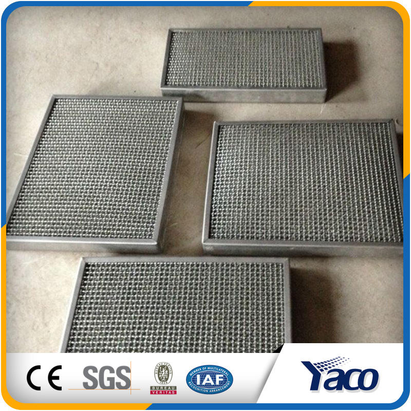 Corrosion-resistant Stainless steel gas-liquid filter, Wire mesh demister, Mist eliminator