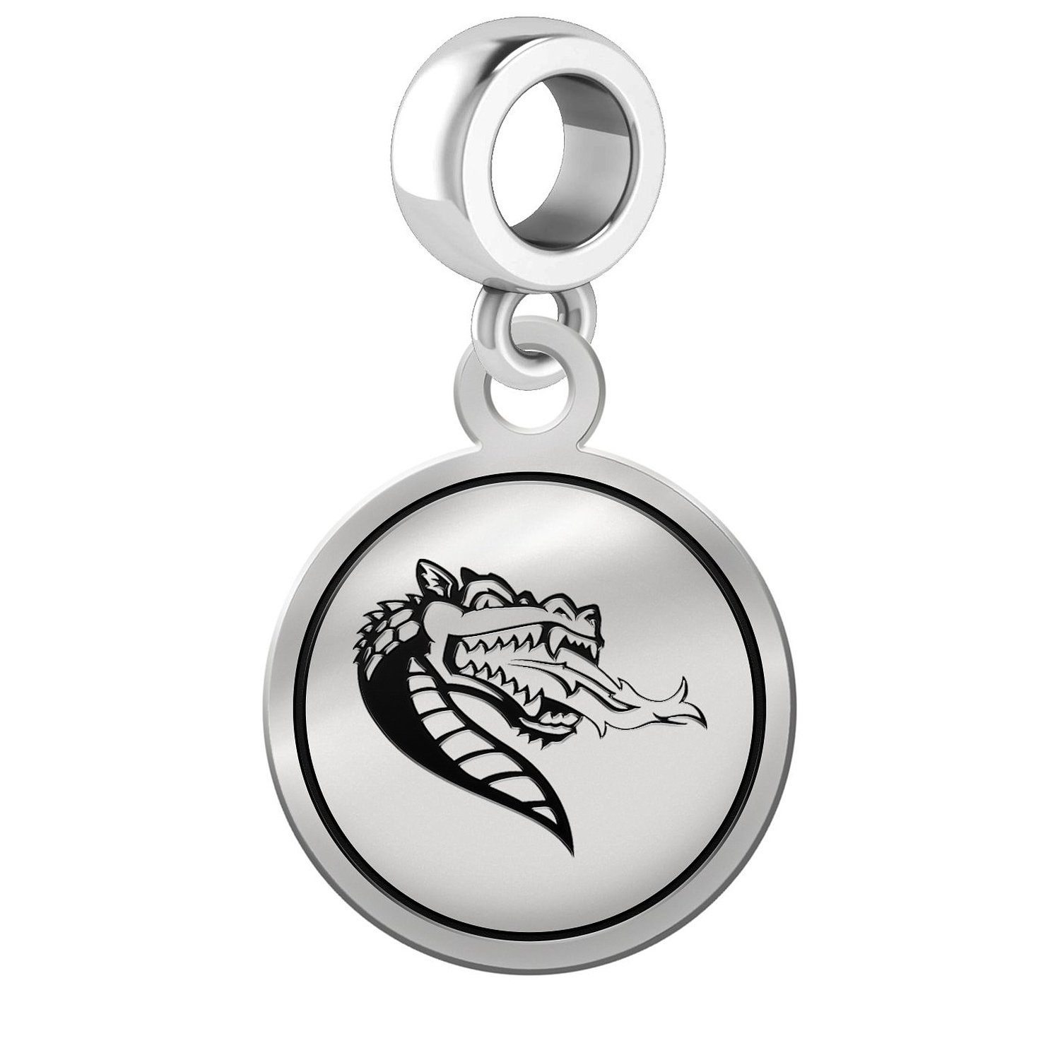 Alabama Birmingham Blazers Border Round Dangle Charm