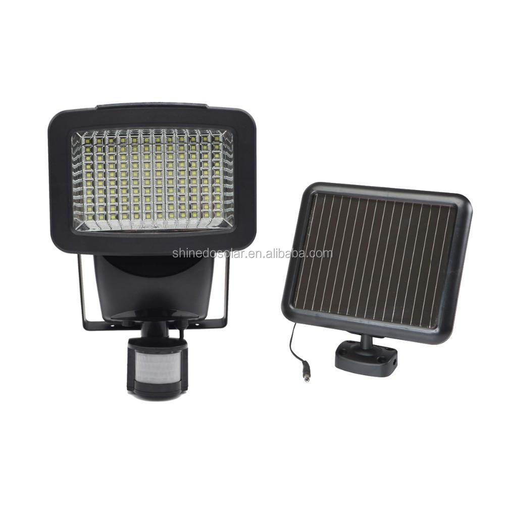 Wall Mounted Mini 8led Solar Motion Sensor Emergency Light For Garden Home Security - Buy Solar ...
