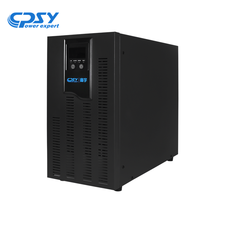 CPSY 10kva 220V single phase power supply online ups for security alarms systems