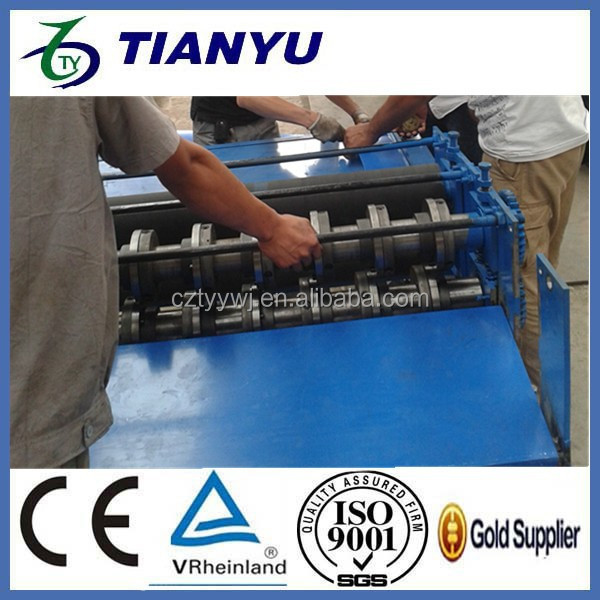 slitting roll forming line/ Colored Steel Sheet Slitting Machine