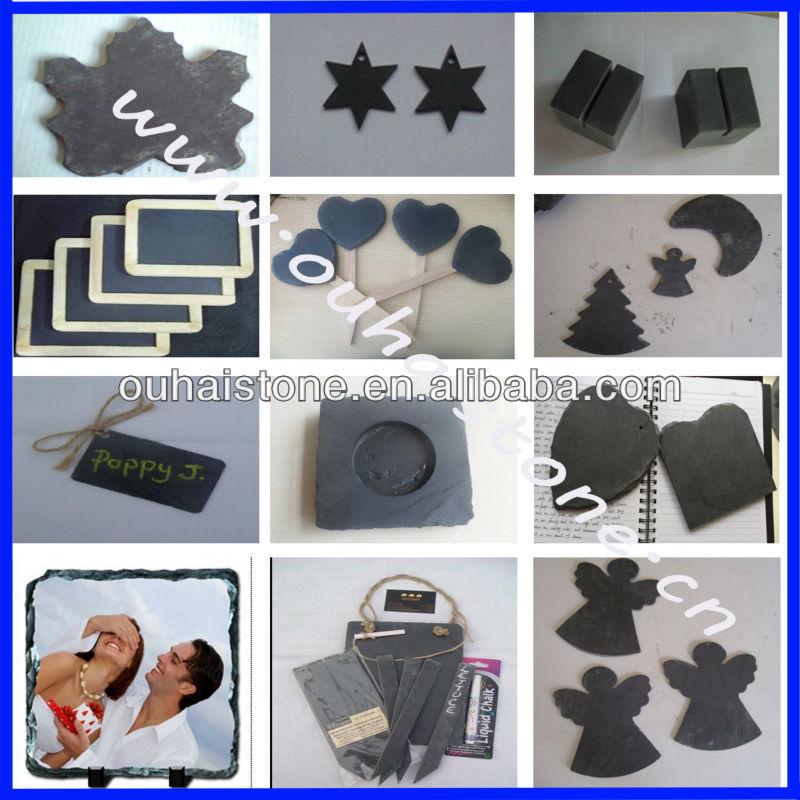 Slate Art Craft Business Card Holder Name Card Holder Buffet Name ...