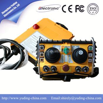 Rf Overhead Crane Remote Control F2460Universal Remote Control