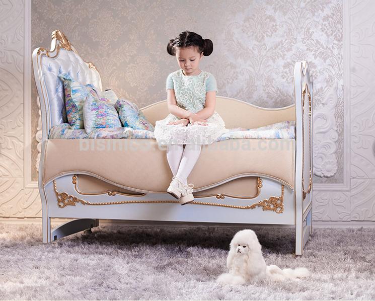 Luxe Royal Style européen royale bébé chambre meubles, Luxe lit ...
