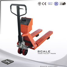 hand pallet truck with scale light weight hand pallet truck