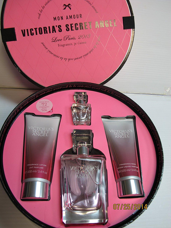 2e5a43ca832 Buy Victorias Secret Angel 4 Pcs Gift Set~eau De Parfum 2.5 Fl Oz ...