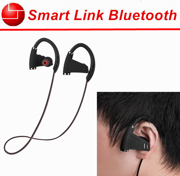 Ear hook 12 hours working time sport wireless earphone bluetooth headphones manufacturers