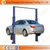 2016 High quality 2 post hydraulic car lift, two posts car lift for sale