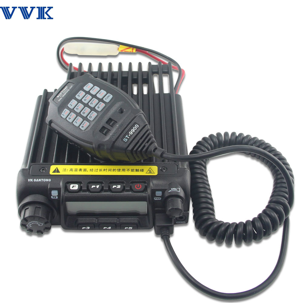 ST-9900 dual band digital mobile radio DMR radio with output power 60W