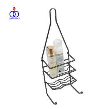 Bathroom Corner Small Hanging Wire Metal Shower Caddy For Storage ...