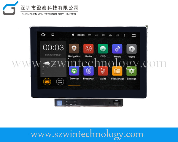 Latest Android 5.1.1 2 din universal dvd player for car WT-1002