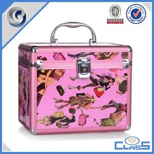 MLD-CC810 Ample organizer magic miniature travel cosmetic bag for nail art