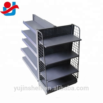 sale retailer 7bfde aac36 Black Quality Assured Shelving Display Gondola Shop Shelving Units - Buy  Shelving Unit,Shop Shelving,Shelving Units For Shop Display Product on ...