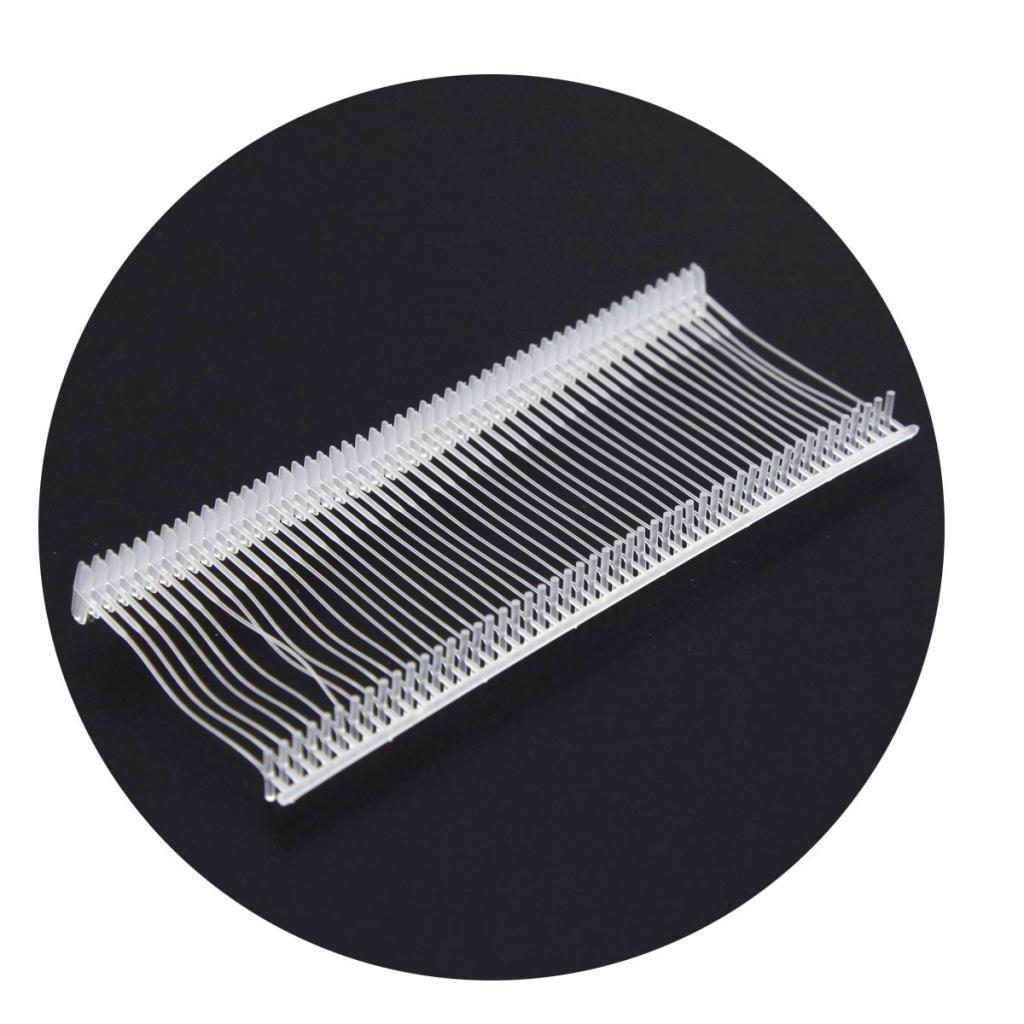 "5000 Pcs Transparent Plastic Standard Tagging Tag Gun Fastener Pin Barb 3.5cm/1.38"""