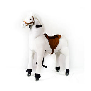 Funny toys!!!mall games for kids, plush horse pony, funny running horse toy promotional