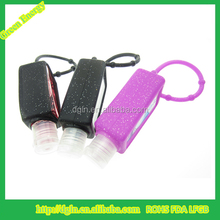 Wholesale 30ml hand sanitizer bottle for hand sanitizer with silicone holder