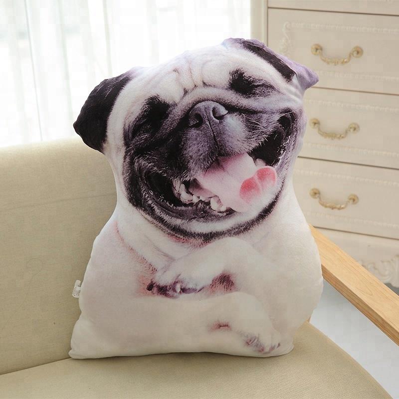 3d Dog Pillows Car Seat Pillow Neck Lovely Auto Headrest Interior