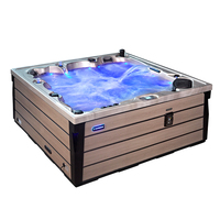 Sunrans New Acrylic spa balboa system hot tub whirlpool outdoor massage spa