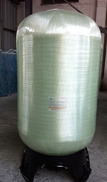 FRP soft water pressure vessel tank for water treatment system