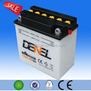 12n9-4b-1 Positive and Negative Plates Motorcycle Bat 12v 9ah motorcycle battery