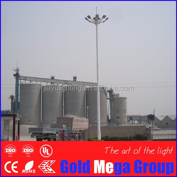 15m, 20m, 25m, 30m, 35m , 40m sports stadium high mast lighting light poles
