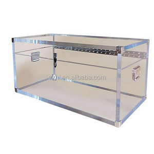 Clear acrylic trunk for storage