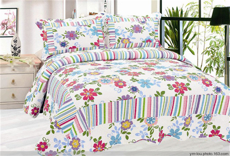 Cotton Bright Color forter Sets Hotel Plain