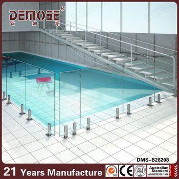 Swimming Pool Equipment Frameless Deck Veranda Glass Railing Cheap Pool Fence Ideas Buy