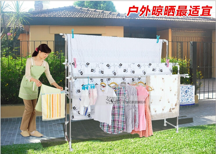 Clothes Drying Rack Wheels Clotheslines