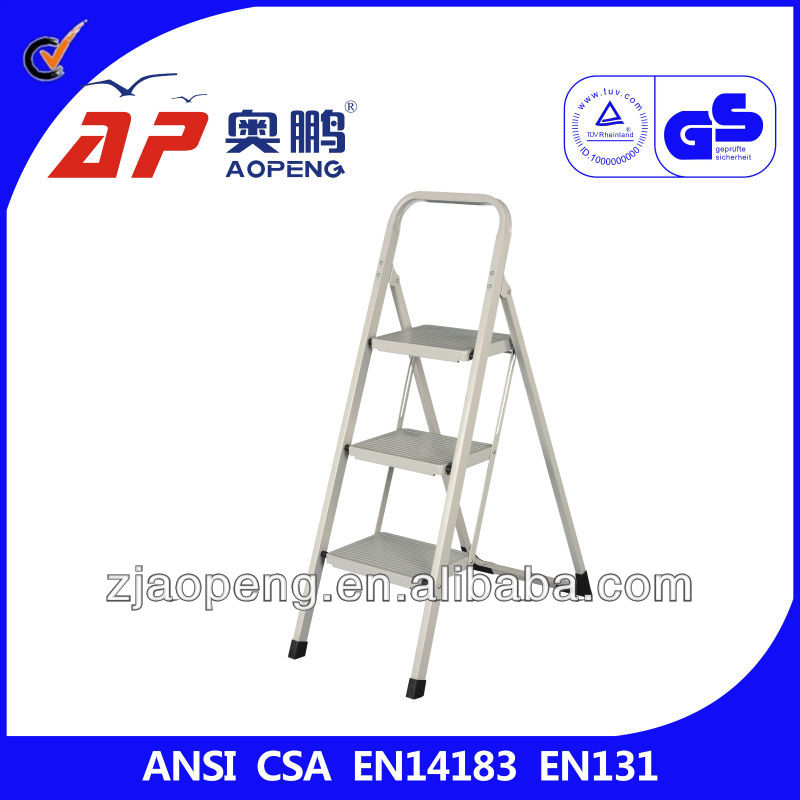 adjustable step ladder with square tube AP-1303