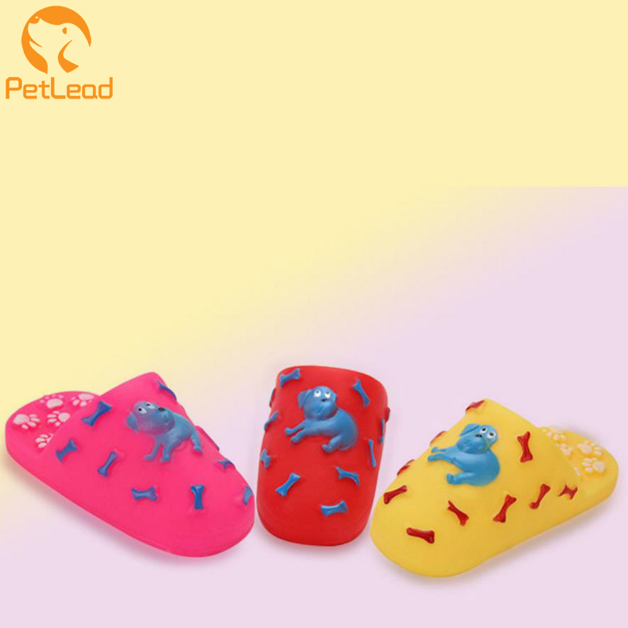 Pet dog rubber toy for pet shoes squeaky vinyl dog toy soft vinyl toys
