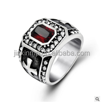 Rubyjewelry Rings For Men Knuckle Sapphire Jewelry Titanium Load