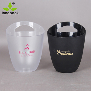 3L Clear Acrylic Champagne Beer Bar plastic ice bucket