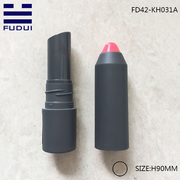 2016 new eco-friendly plastic screw lipstick case lip balm container for makeup