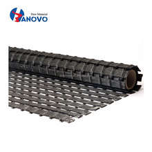 High quality uniaxial excellent creep resistance polyester geogrid for road construction