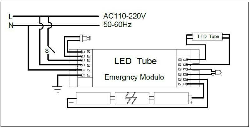 iluminaci u00f3n de emergencia de paquete de energ u00eda para 30 w 22 w 20 w led iluminaci u00f3n