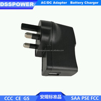 UK plug 5V2A usb charger with CE GS standard