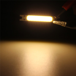 3W COB LED Strip Light LED Chip High Power Emitting Diode Bulb Lamp 300 Lumen Cold / Warm White Lighting 10-12V