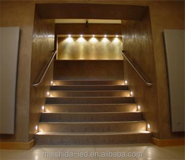 Stair/rail/boat/floor Recess Dimmable Down Light/3w*12v