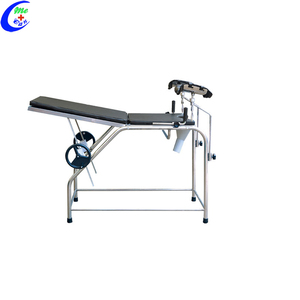 Hospital Obstetric Delivery Bed Stainless Steel Gynecology Chair