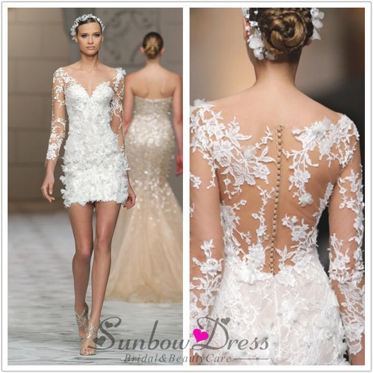 4c070b2d9 Vestidos de novia sexis y cortos – Vestidos largos