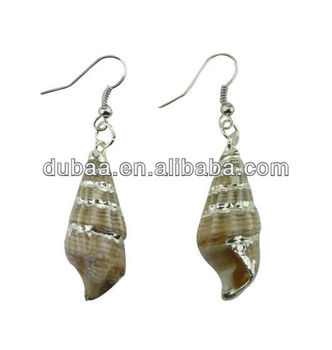 Fashion High End Earrings Jewelry Eco Friendly Sea Snail Vintage
