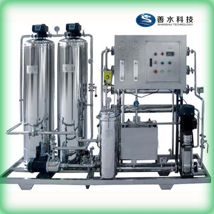 Hot selling stainless steel PLC RO water purifier with factory price
