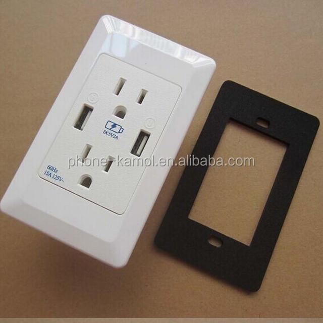 110v 15a double socket outlet-Source quality 110v 15a double socket ...