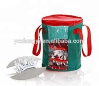 Housing Storage Bag Christmas Light Chain Organizer with Handles